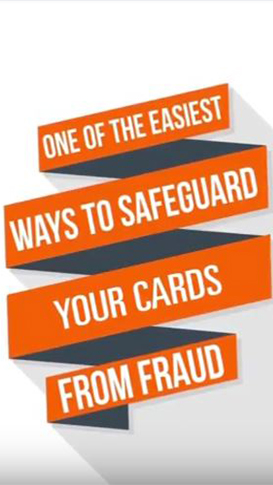 CardValet app safeguard screen on smartphone
